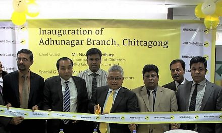 NRB Global Bank formally opens Adhunagar Branch at Chattogram