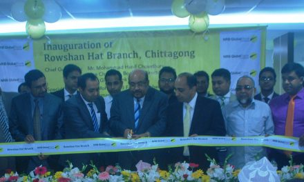 NRB Global Bank formally opened Rowshan Hat Branch at Chattogram