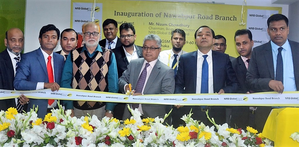 NRB Global Bank formally opens its Nawabpur Road Branch at Dhaka