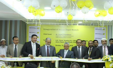 NRB Global Bank formally opens Auturar Depot Branch at Chattogram