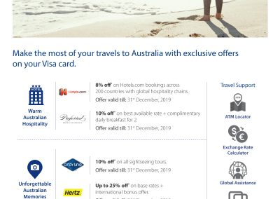 Travel offers Australia