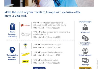 Travel offers Europe