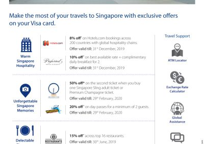 Travel offers Singapore
