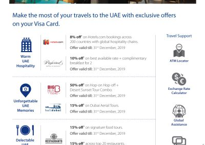 Travel offers UAE