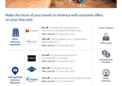 Travel offers USA