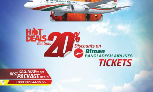 NGBL discount offer with Biman Bangladesh Airlines