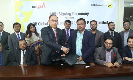 MoU signed between NRB Global Bank and UNIgas