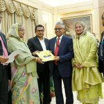 NRB Global Bank Limited donated Tk. 01 crore for marking the birth centenary celebration of Bangabandhu